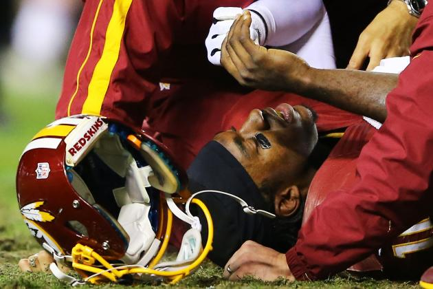 Projecting RG3's Recovery Timeline As QB Comes Back from ACL Tear