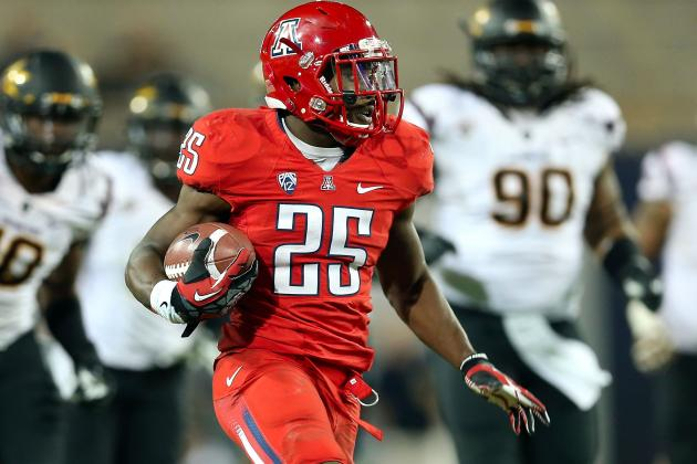 Charges to Be Filed Against Arizona Running Back Ka'Deem Carey