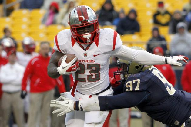 Jamison Gives Up Eligibility, Leaving Rutgers for NFL