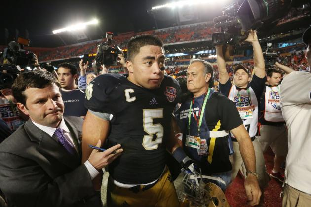 Manti Te'o's National Championship Performance Shouldn't Hurt Draft Stock