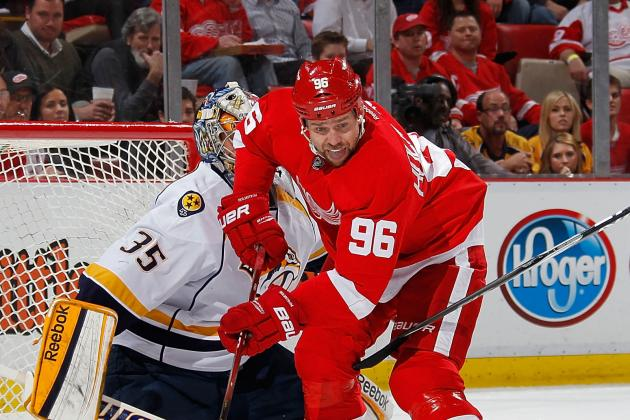 Red Wings Will Miss Tomas Holmstrom's Resilience on the Ice