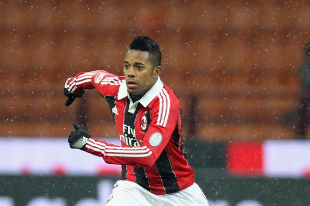 AC Milan Coach: Robinho Is Focused on Milan and Is More Than Happy to Stay
