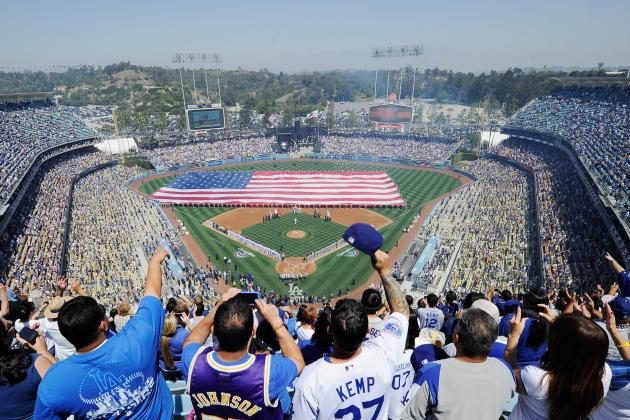 Dodgers Announce Stadium Improvements for 2013Season