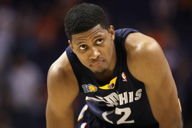 Grizzlies' Rudy Gay Unruffled by Trade Talks: 'If It Happens It Happens'