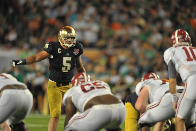 What Manti Te'o's BCS Title Game Flop Means for His NFL Draft Prospects