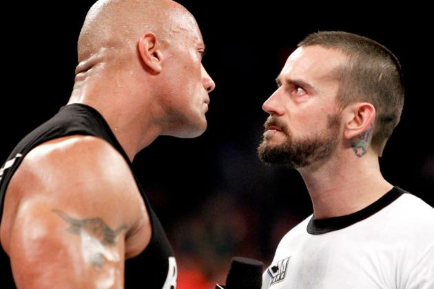 Intensity Fuels First Rock-Punk Encounter on Monday Night Raw