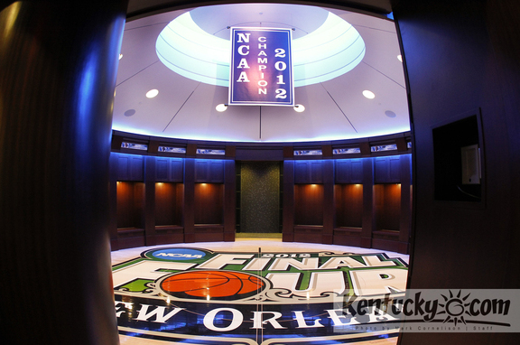 Kentucky Locker Rooms Get Makeover