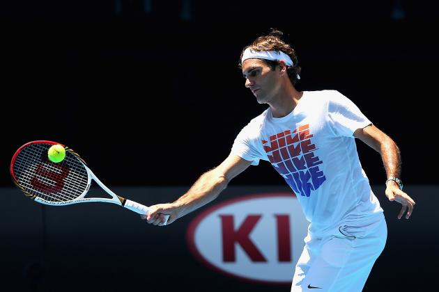 Roger Federer: Don't Count out FedEx in Australian Open