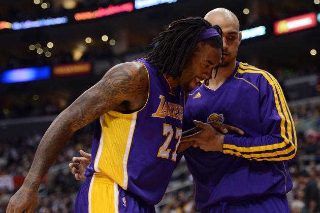 Jordan Hill Injury Means Lakers Must Get Creative with Their Lineups