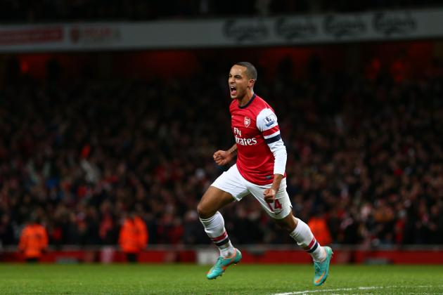 Walcott Will Be Presented with a £25m 5 Year Contract Offer This Week
