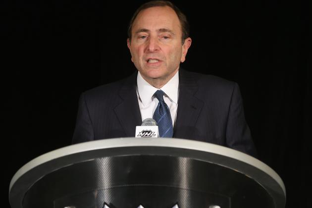 2013 NHL Shortened Season Structure Announced
