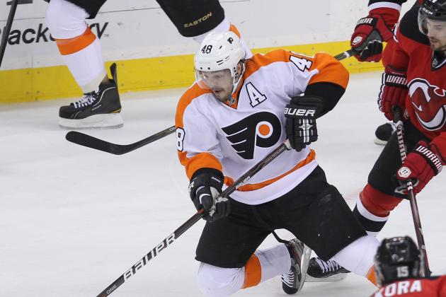 Briere Could Miss Flyers' Season Opener