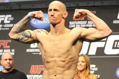 Buddy Roberts out of UFC on FOX 6 Due to Illness, Mouth Injury