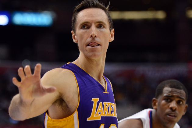 Steve Nash Notches 10,000th Assist