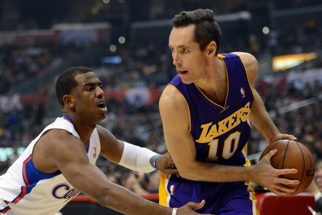 Steve Nash Hits Epic 10,000 Career Assists Mark Against Houston Rockets