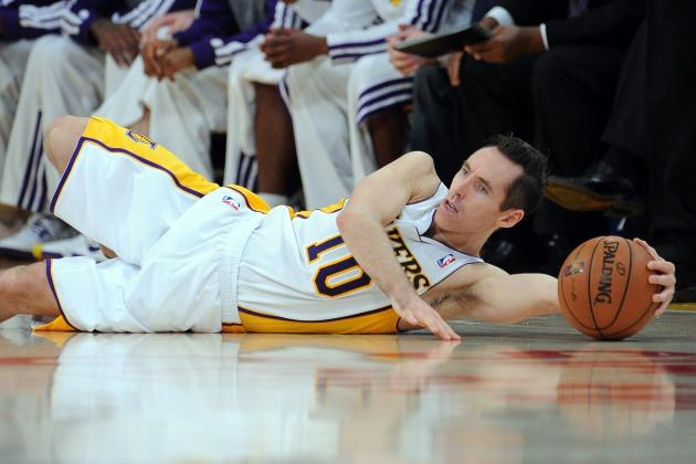 Steve Nash Injury: Updates on Lakers PG's Back