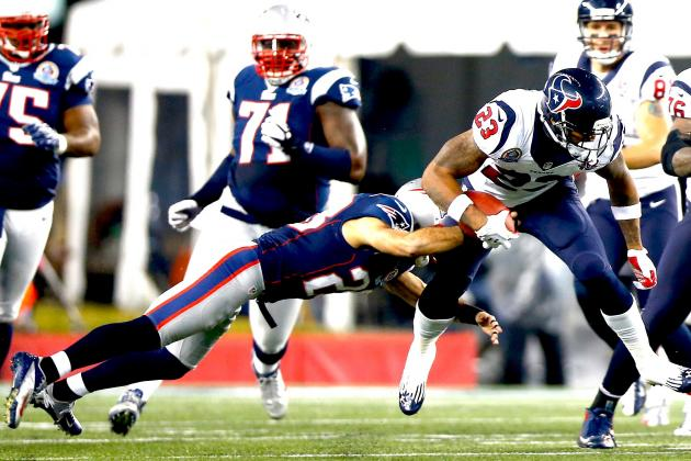 Breaking Down How New England Patriots Can Repeat Success Against Arian Foster