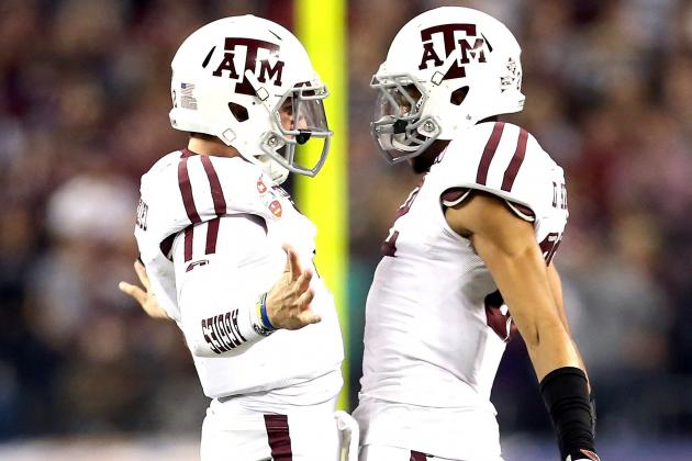 Texas A&M Is the Only Team That Can Give Alabama Fits Next Year