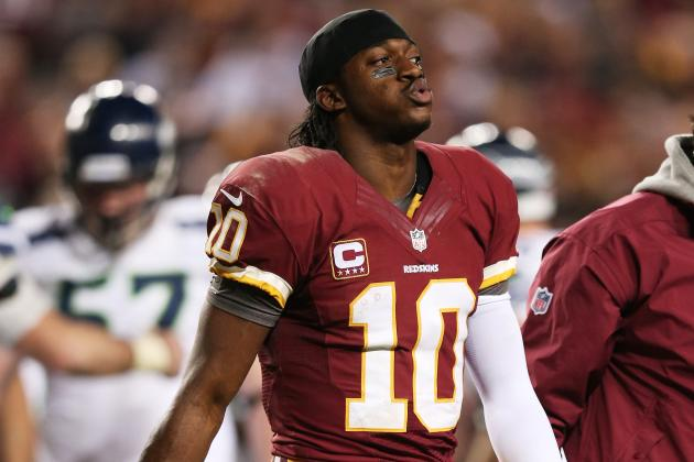 Robert Griffin III Faces Surgery for Torn Knee Ligament, Possible Lengthy Rehab