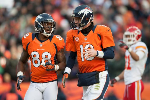 2013 NFL Playoffs: Breaking Down How the Broncos Can Manhandle the Ravens