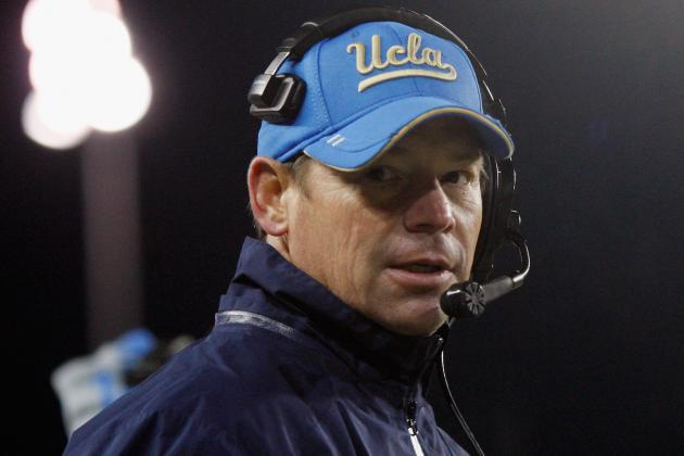UCLA's Jim Mora Reportedly Contacted by San Diego Chargers