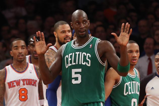 Kevin Garnett's Legacy Will Be Damaged by Going Too Far