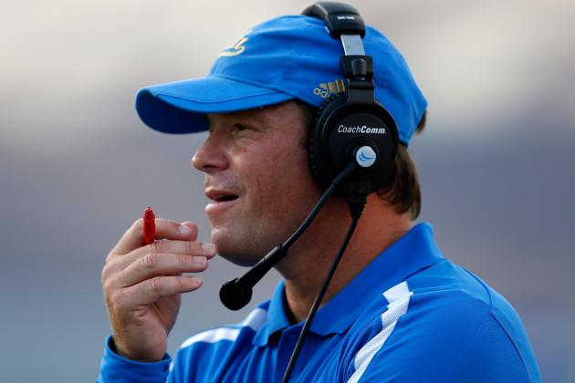 UCLA Head Coach Jim Mora Has Been Contacted by the San Diego Chargers