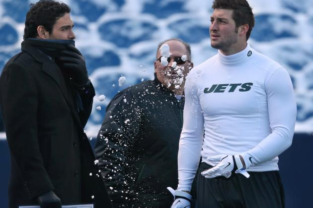 Tim Tebow: Jets Must Give Him Shot at Quarterback or Trade Him