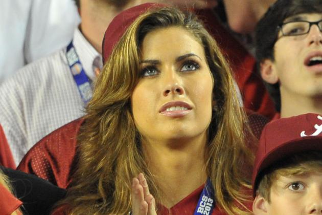 AJ McCarron's Girlfriend Katherine Webb Defends ESPN's Brent Musburger