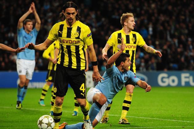 Borussia Dortmund Defender Neven Subotić Sidelined Up to 6 Weeks