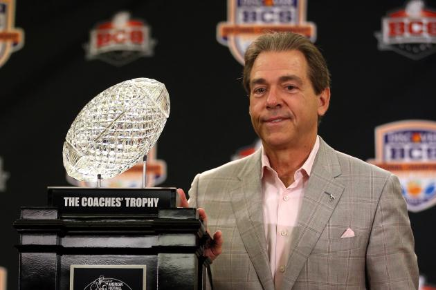 Dictator Saban Indeed Better off Staying in School Instead of Returning to NFL