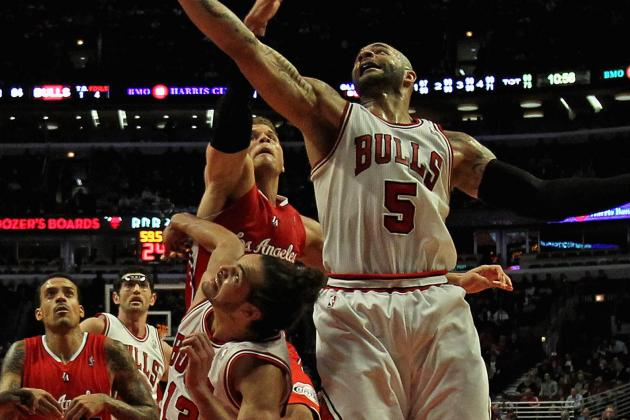 Absence of Derrick Rose Impacting Chicago's Big Men the Most