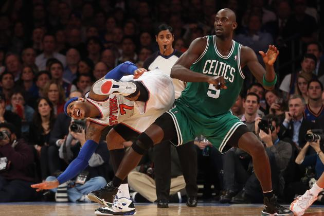Report: New Video Emerges of Kevin Garnett-Carmelo Anthony Confrontation