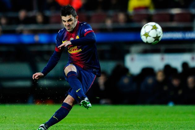 Barcelona Tell Arsenal to Forget About Signing David Villa in January