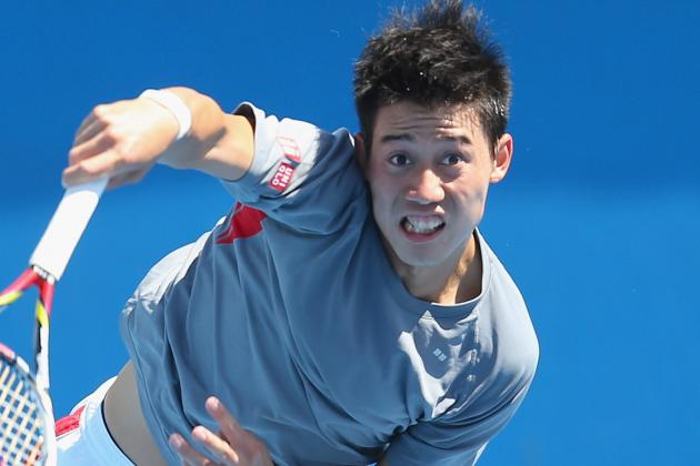 Kei Nishikori Still Struggling with Injured Knee