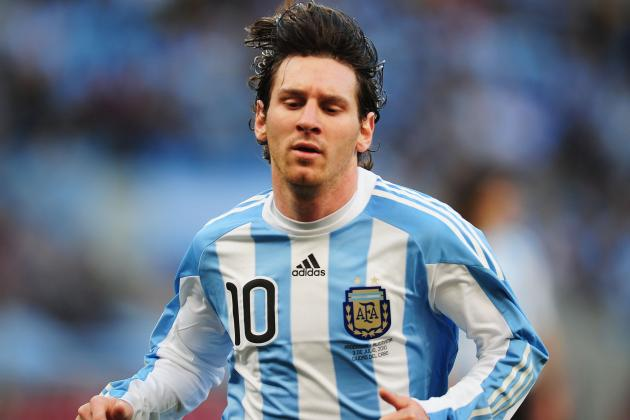 Barcelona and Argentina's Lionel Messi: World Cup Is Missing Award