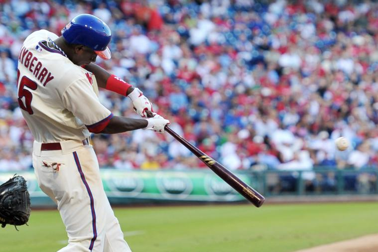 Phillies' Platoon in Left Has Its Pluses and Minuses