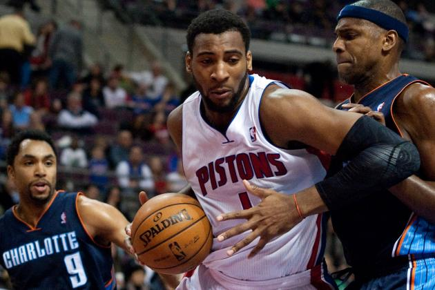 Detroit Pistons Future Will Revolve Around Rookie Center Andre Drummond
