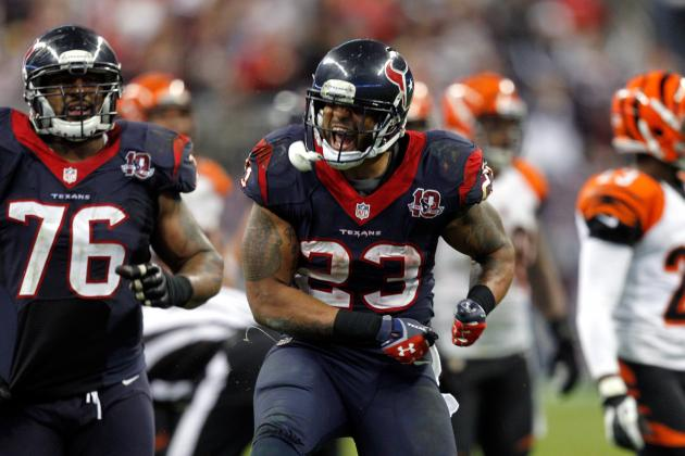 Texans vs. Patriots: Arian Foster Is Biggest Key to a Houston Victory
