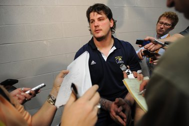 Michigan's Taylor Lewan to Hold Press Conference Wednesday