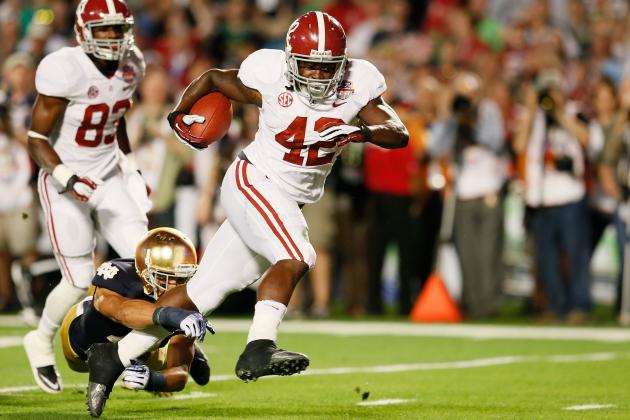 BCS Championship 2013: Analyzing the Quarter That Won the Game for Alabama