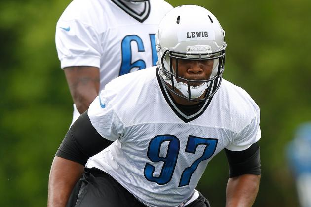 Lions DE Ronnell Lewis Might Play Bigger Role in 2013