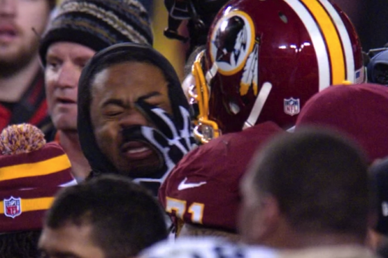 Richard Sherman Was Wearing a Mic When Trent Williams Mushed Him [video]