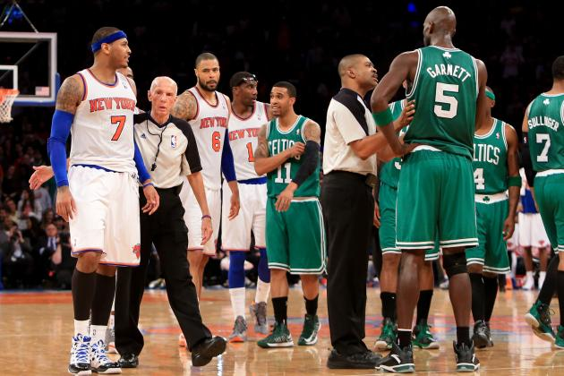 Debate: Did KG Go Too Far in Talking About Carmelo's Wife?