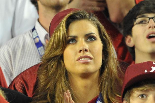 Was Brent Musburger Really Creeping on A.J. McCarron's Girlfriend?