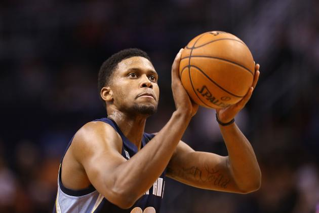Rudy Gay's Time in Memphis May Be Coming to a Close