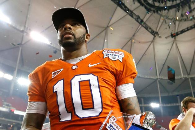 Tajh Boyd Announces He'll Return to Clemson