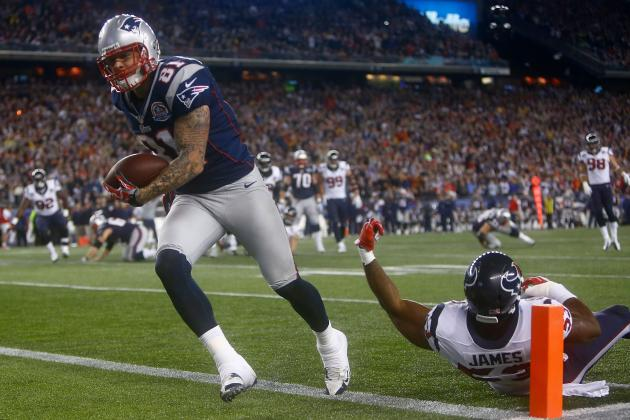 Why Aaron Hernandez Could Have Another Big Game against Houston Texans