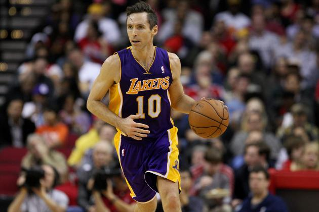 Steve Nash Offers No Guarantees That LA Lakers Will Make the Playoffs