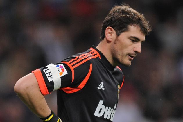 TEAM NEWS: Casillas Returns to Starting XI for Real Madrid in Celta Clash